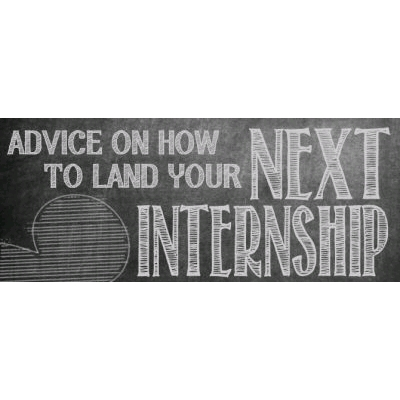 Internship advice